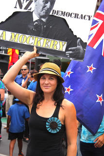 TPPA protest march