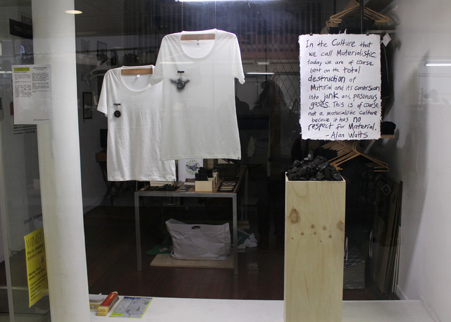 WorkIShop window space, La Gonda Arcade, K- Road